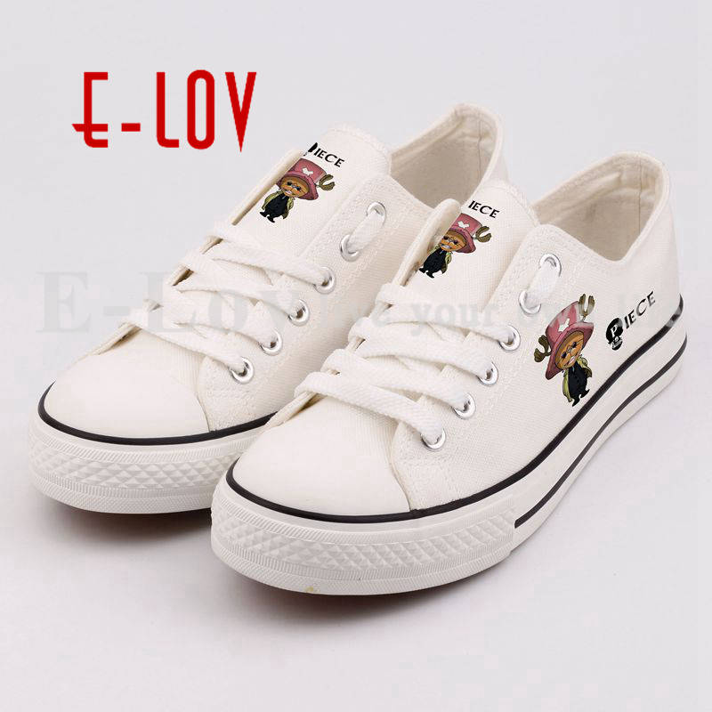 One Piece Printed Women Girls Causal Canvas Shoes High Quality Lace-Up Flat Shoes Unisex zapatos mujer
