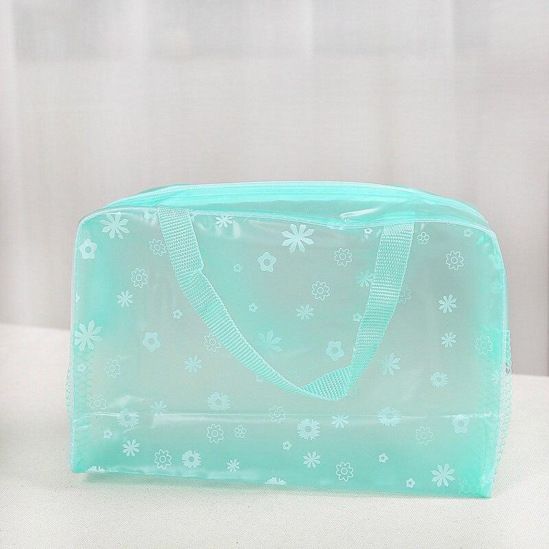Водонепроницаемая косметичка для мытья ванной сумка для приемов путешествий многофункциональная косметическая сумка для приемов - Цвет: green