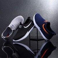 Модные мужские лоферы летняя дышащая мужская повседневная обувь Тренд легкие лоферы удобные кроссовки мужская обувь на плоской подошве