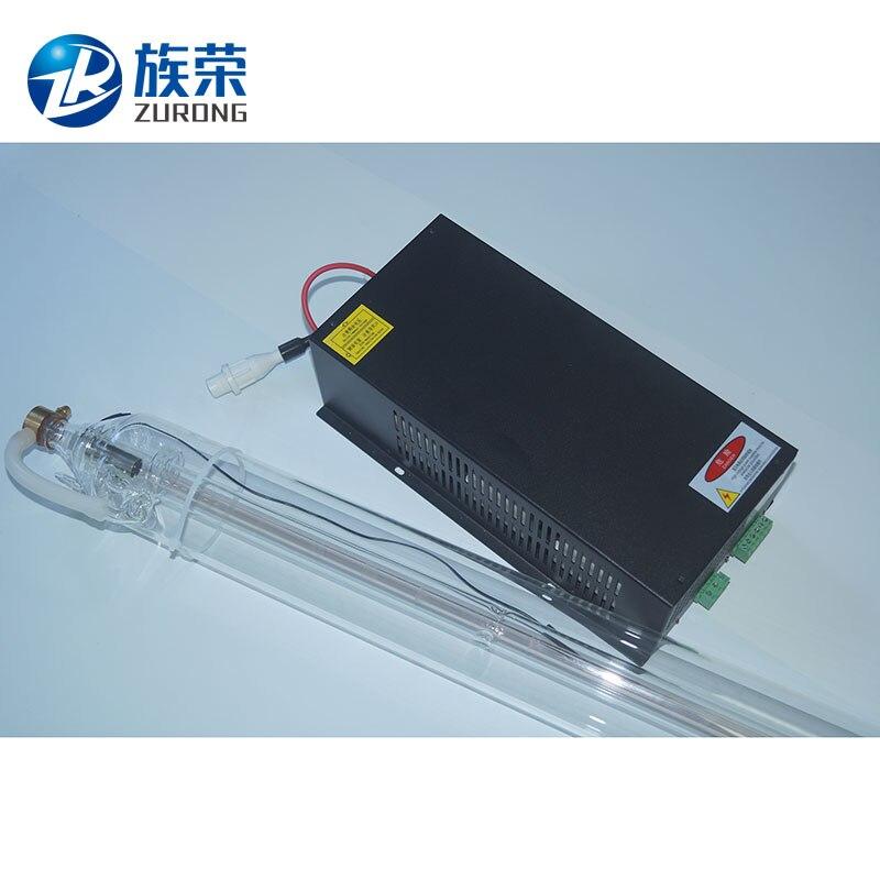 SHZR Kit Of 1PCS 40W Laser Tube 700mm length And Co2 Laser Power Supply shzr 40w laser power supply ac110v