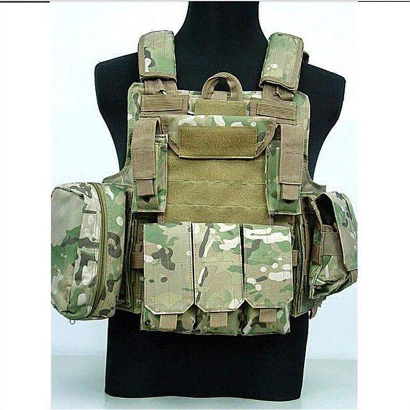 military tactical vest molle Combat Strike Plate Carrier CIRAS Vest Multi Camo sports vest mil spec military lt6094 coyote brown cb combat molle tactical vest army military combat vests lbt6094 style gear vest carrier