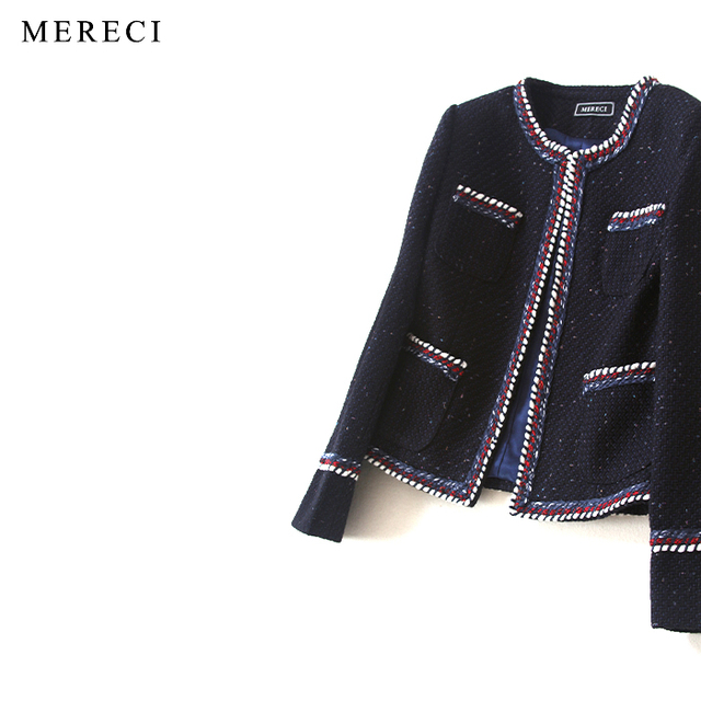 658ab390e151a purebliss black pocket tweed jacket 2017 runway ladies long sleeve coat  designer high quality elegant formal coat