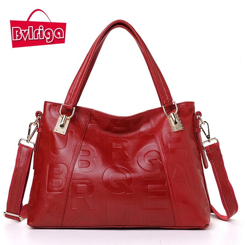 BVLRIGA Luxury handbags women bags designer handbags high quality top layer leat