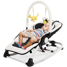 Electric Baby Swing Bouncer Rocking Chair For Baby Bebek Salincak Newborn Baby Sleeping Basket automatic cradle bebek salincak(China)