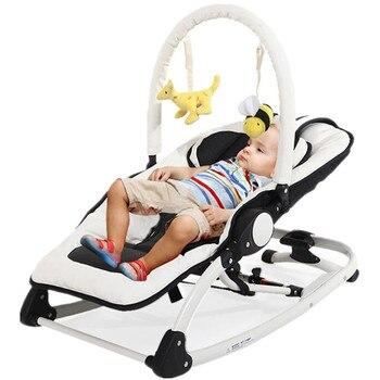 Electric Baby Swing Bouncer Rocking Chair For Baby Bebek Salincak Newborn Baby Sleeping Basket automatic cradle bebek salincak nosidełko a chusta