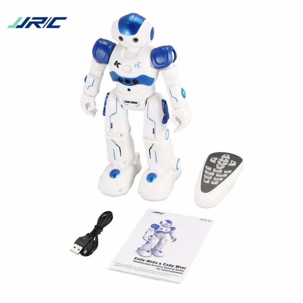 JJR/C R2 robot qui danse Intelligente Geste Contrôle RC jouet robot Bleu Rose pour Enfants cadeau d'anniversaire pour enfants USB De Charge tt