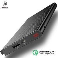 Baseus 20000mAh Dual USB Power Bank Quick Charge 3 0 LCD Powerbank Portable External Battery Charger