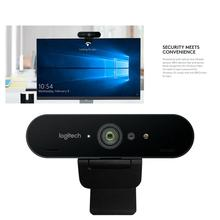 Logitech BRIO C1000e 4K HD Webcam With MIc For Video Conference Streaming Recording Camera Computer