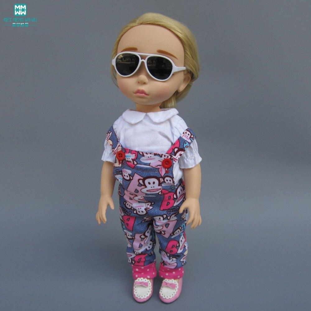 Doll Accessories Mini Glasses For 40-45 Cm Salon Dolls