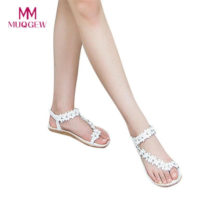 2018 Women's Fashion Sweet Summer Bohemia Sweet Beaded Sandals Clip Toe Sandals Beach Shoes Herringbone Sandals Soft Shoes босоножки sweet shoes sweet shoes sw010awtbr38