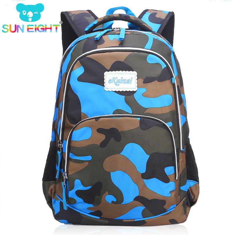 Fashion Camouflage Big Size Kid Backpack Bag School Bags Travel Backpack  Bags For Cool Boy And Girl Drop Shipping 7db9c6028dbc8