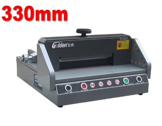 Desktop Electric Paper Cutter Cutting Machine Guillotine 330mm Length 40mm Paper Thickness 2018 New цена