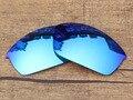 Ice Blue Зеркало Поляризованных Солнцезащитных Очков на Замену Линзы Для Бронежилет Солнцезащитные Очки Кадров 100% UVA и UVB Защиты