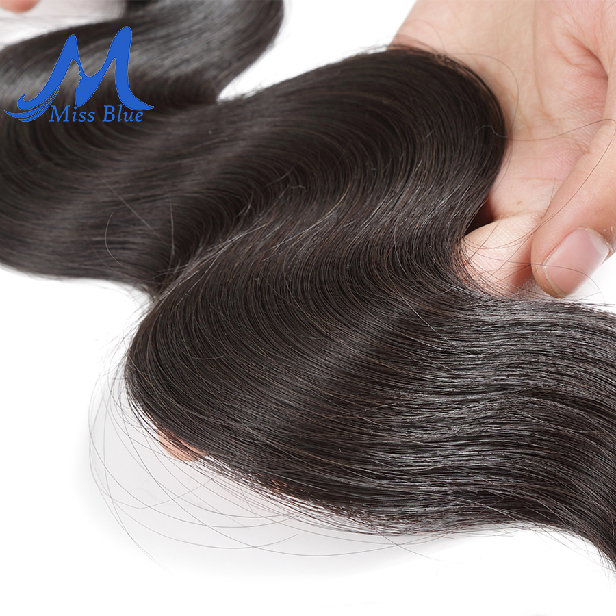 Missblue 10A Mink Quality Brazilian Virgin Hair Bundles Body Wave Grade 10A Raw Human Hair Weave Bundles Extension 1 3 4 P/Lots 3