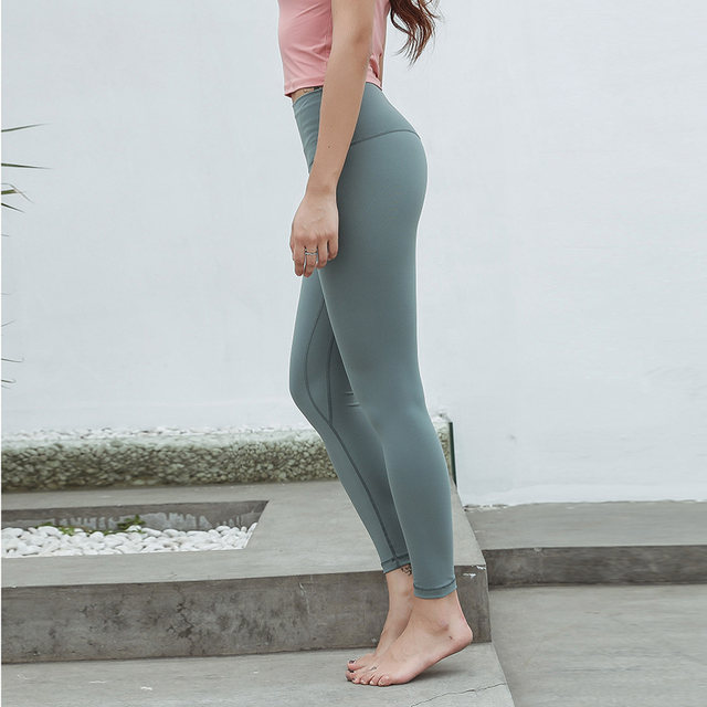 1e87867d707b31 Online Shop Women's Candy Color Yoga Pants Workout Running Tights ...