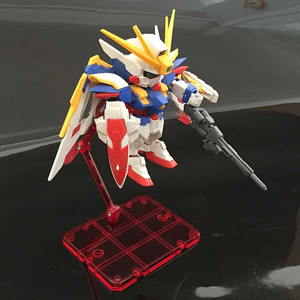Image 5 - 10 pcs Action Figure Base Suitable Display Stand Bracket for 1/144 1/100 HG/RG SD rabot Gundam/Animation STAGE ACT suit