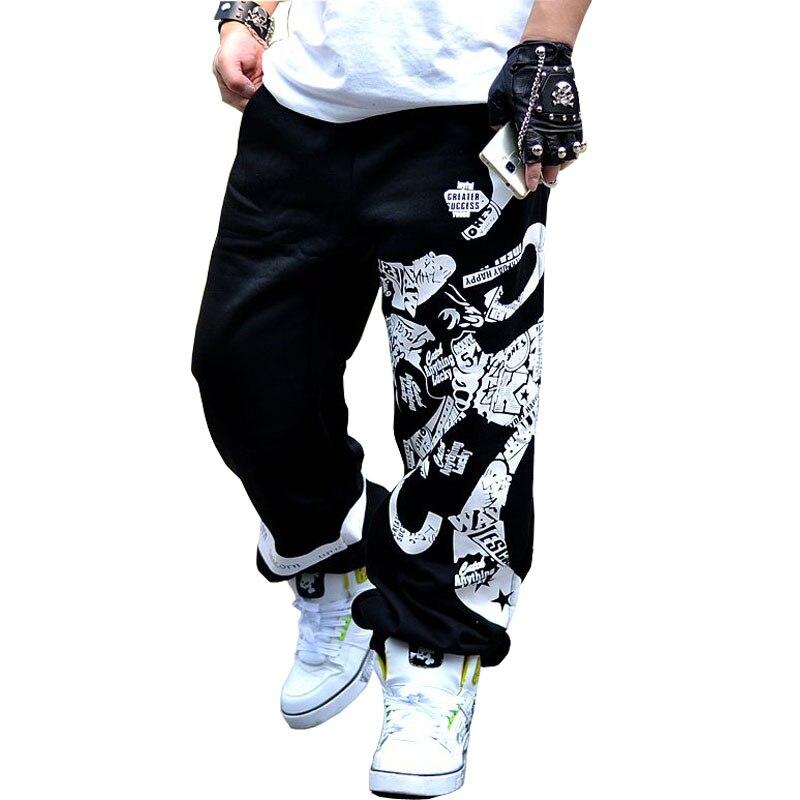 2019 New Spring Street Cotton Sweatpants Men Hip Hop Printing Designer Jogger Pants Men