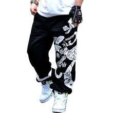 2020 yeni bahar sokak pamuk Sweatpants erkekler Hip Hop baskı tasarımcısı koşucu pantolonu erkekler