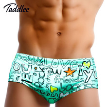 Taddlee Brand Europe Size Men Swimwear Gay Man Mens Swimsuits Swimming Bikini Briefs Board Surf Shorts Men's Swim Boxer Trunks