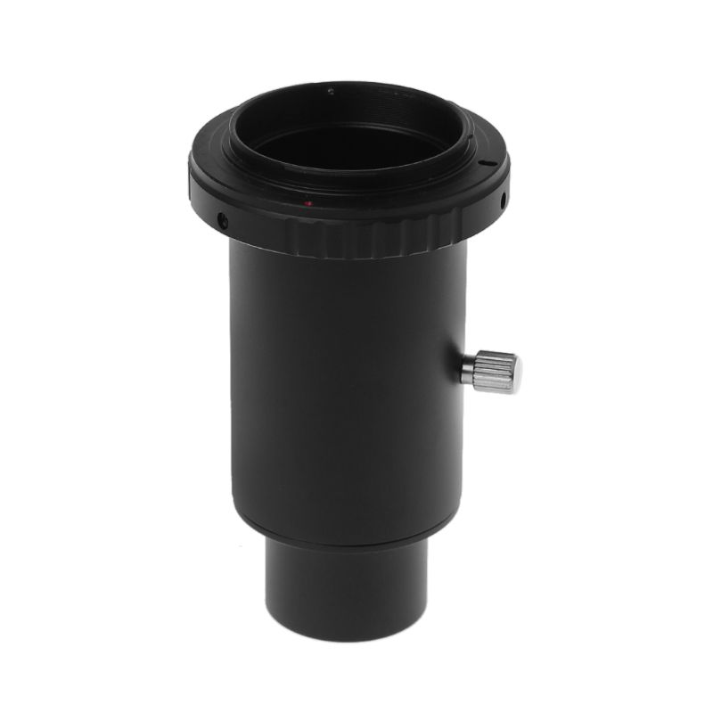 T2 Adapter Telescope Aluminum Extension Tube 1 25 inch Telescope Mount Adapter Thread T Ring For Olympus OM 4 3 Camera in Lens Adapter from Consumer Electronics
