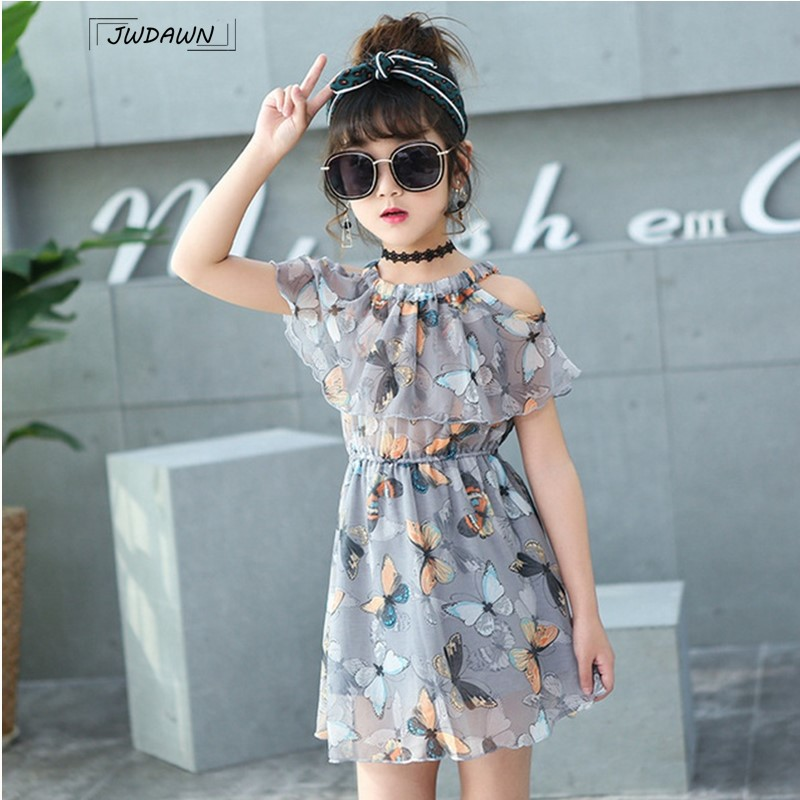 Flower Girl Dresses Floral Butterfly Party Girls Dresses Princess Dress Summer Party Teenagers Clothes for Girls Dress VestidosFlower Girl Dresses Floral Butterfly Party Girls Dresses Princess Dress Summer Party Teenagers Clothes for Girls Dress Vestidos