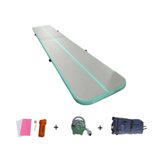 Inflatable Air Track For Gym Gymnastics Tumbling Yoga Mat Airtrack Matte with Air Pump Olympics Training Mattresses for Home Use цены