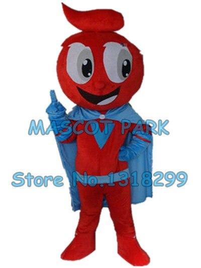 Красное яблоко костюм талисмана пользовательские мультипликационный персонаж взрослый размер карнавал cosply костюм 3158