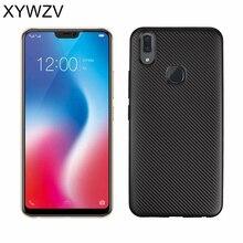 For Cover Vivo V9 Case Luxury Armor Soft Silicone Phone BBK Back V 9 Shell Coque XYWZV
