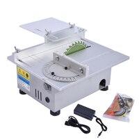 New Miniature High Precision Table Saw DC 24V 3500RPM Cutting Machine DIY Model Saws Precision Carpentry