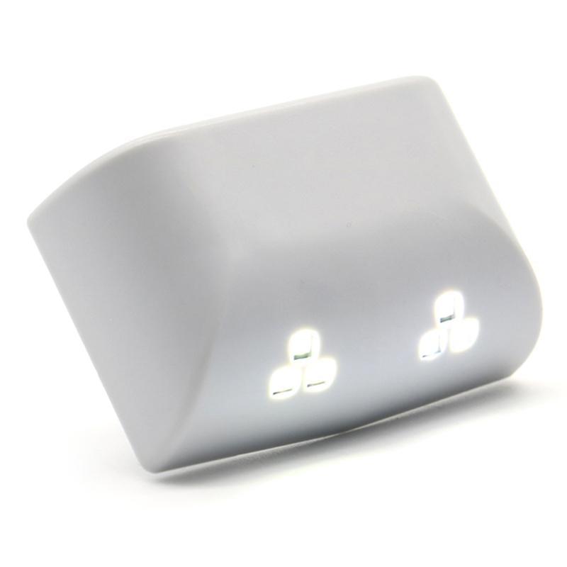 LumiParty Universal LED Smart Induction Cabinet Light Night Light Hinge Lamp Sensor Light for Closet Wardrobe