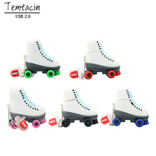 Ice Skates Pen font b Drive b font USB Flash font b Drives b font Genuine