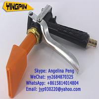 Car cleaning spray gun stainless steel portable car wash foam machine flat mouth spray gun duckbill gun head cleaning tool