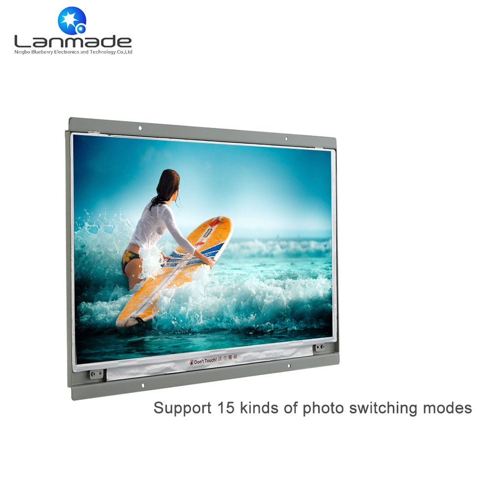 15 inch solar advertising board lcd display open frame led monitor ...