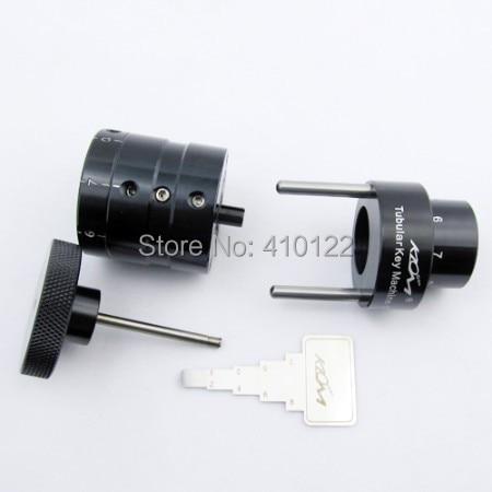 Vamzdinių raktų pjaustymo staklių šaltkalvių įrankiai Pietų Korėja KLOM nešiojamas slyvų raktų kopijavimo aparatas