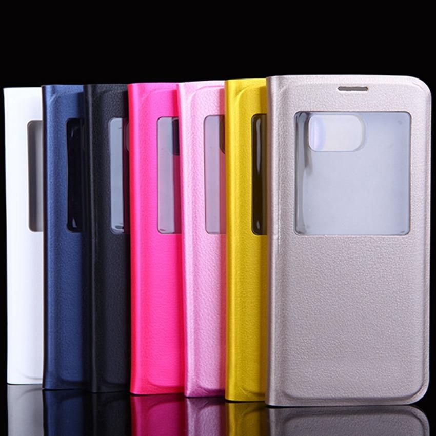 Slim Pəncərə görünüşü flip örtüklü, Samsung Galaxy S8 / S8 - Cib telefonu aksesuarları və hissələri - Fotoqrafiya 6
