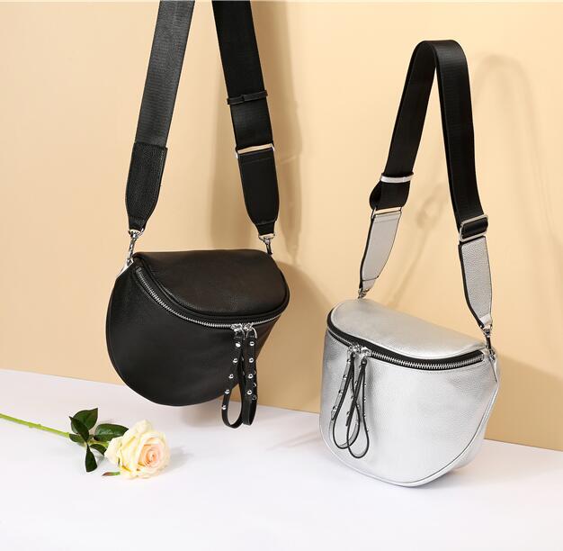 Wholesales Fashion Drawstring Bag For Women Cross Body&Shoulder Bags Bucket Shape Messenger Bag With Zipper Free Shopping
