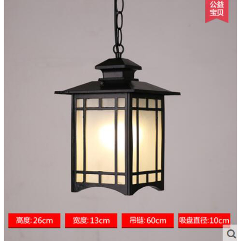 Outdoor Light balcony Retro lamp pastoral Chinese Pendant lamps outdoor pastoral lighting corridor Pendant Lights FG203 LU1020Outdoor Light balcony Retro lamp pastoral Chinese Pendant lamps outdoor pastoral lighting corridor Pendant Lights FG203 LU1020