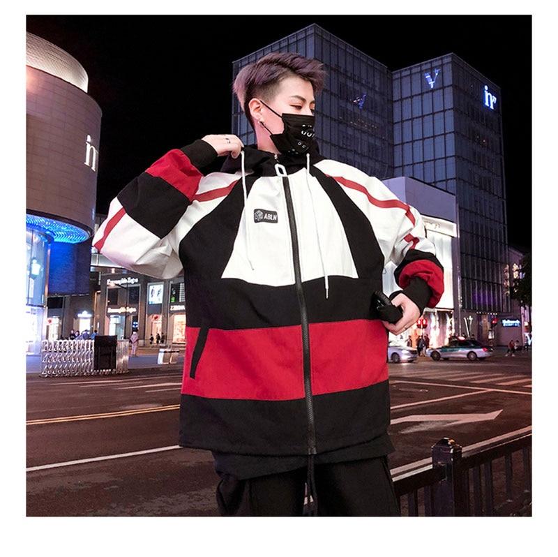 Autumn Spring Jacket Windbreaker Korean Men Hip Hop (6)