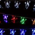 НОВЫЙ Бабочка или Животного Украшения Сказочных Огней 5 М 20 светодиодов Открытый Led Медный Провод Струнные Светильники Рождественский Фестиваль Партия лампы