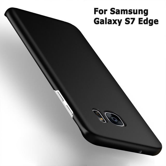 cheap for discount 236da 60bf4 US $3.99 |Luxury S7 case S7 Edge case For Samsung Galaxy S7 S7 Edge ultra  Thin Hard PC 360 full Back Cover Protective Shell Skin-in Fitted Cases from  ...