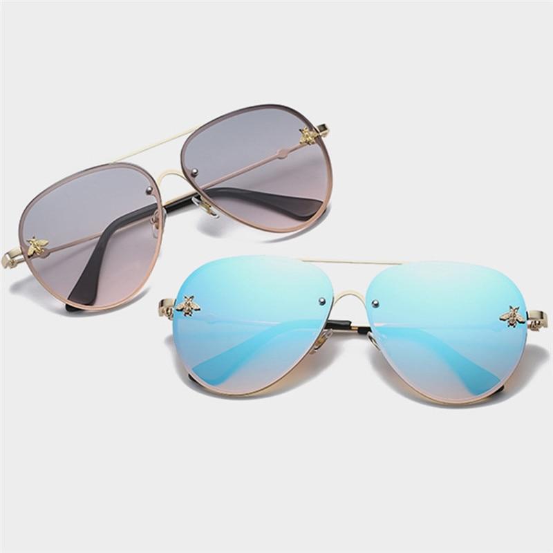 Imixlot Unisex Classic Sunglasses Trendy Color Frog Mirror Lens Luxury Sun Glasses Vintage Eyewear For Men Women