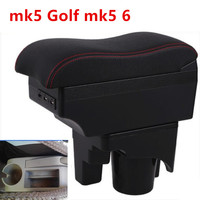For VW jetta mk5 Golf mk5 6 armrest box central Store content box cup holder interior car styling products accessories