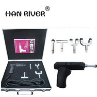 4 head with adjustable intensity adjustment instrument \ electric gun activation massage therapy massager