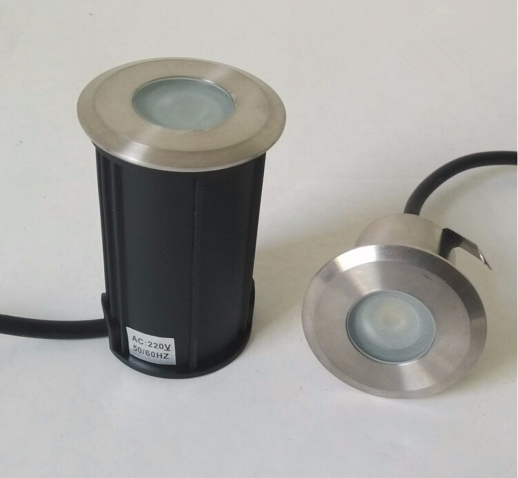 Lâmpada LED Subterrânea Lâmpada LED Inground Luz