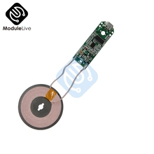 Qi Standard Transmitter Module Wireless Charger Micro USB Cell Phone Unmanned Fast Charge Diy Electronic Coil Charging Board 5W