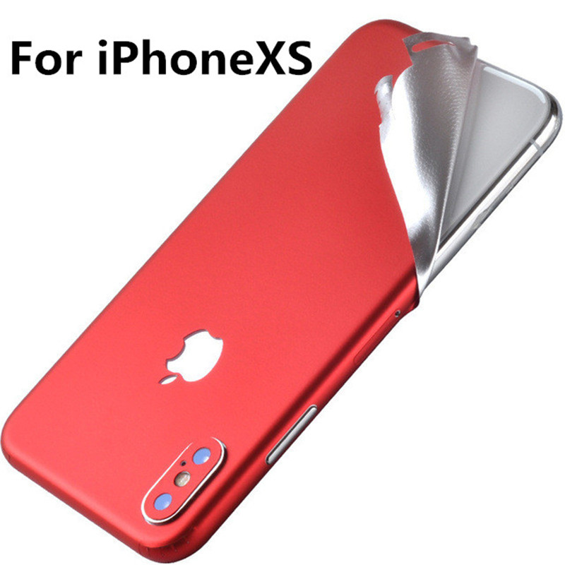 SIANCS 1PCS mobile phone Back Film Protector Scratchproof For iPhonexs xsmax x ultra-thin ice film covered with protective film(China)