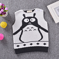 Totoro small vest vest fake cuddle cute cartoon pattern super-thick section baby children's clothing.