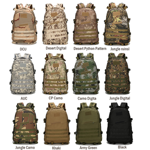 Image 5 - 1000D Nylon 40L Backpack For Men Women Camouflage Army Bags Mochila Militar Bags Casual Travel Waterproof Bags