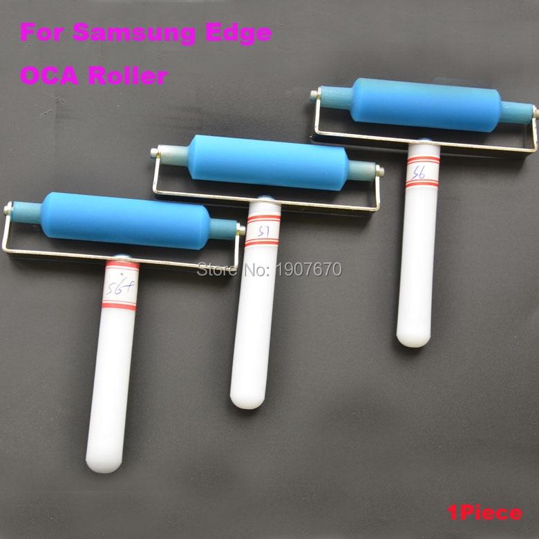 bilder für 1 stück für samsung s7 edge s6 + plus rand oca film silikon roller rad polarisierende werkzeuge renovieren paste-tool