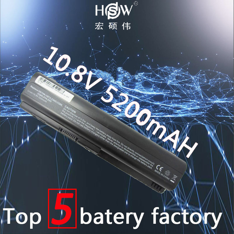 HSW 5200mAH LAPTOP Battery for Compaq Presario CQ50 CQ71 CQ70 CQ61 CQ60 CQ45 CQ41 CQ40 For HP DV4 DV5 DV6 DV6T G50 G61 batteria for hp cq40 cq41 cq45 dv4 for amd discrete graphics dedicated laptop fan